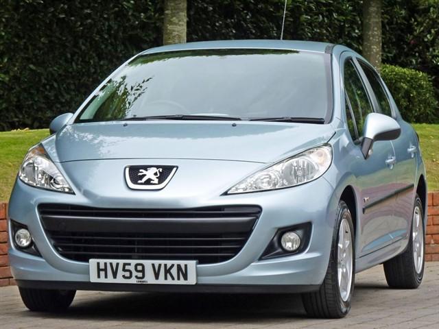 used Peugeot 207 1.4 VERVE in dorset
