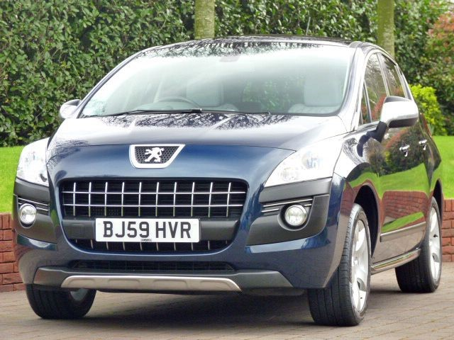 used Peugeot 3008 EXCLUSIVE HDI in dorset