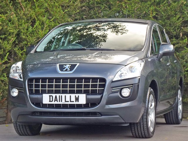 used Peugeot 3008 1.6 HDi Sport in dorset