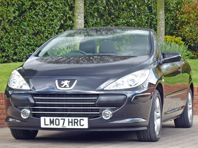 used Peugeot 307 CC  S COUPE CABRIOLET in dorset