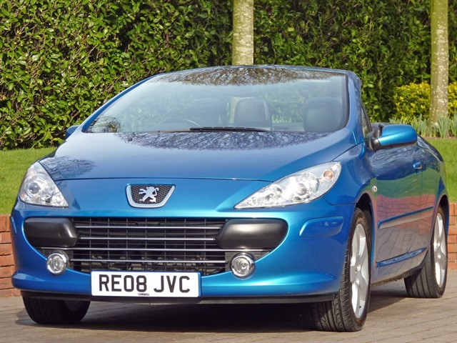 used Peugeot 307 CC  Sport Automatic in dorset