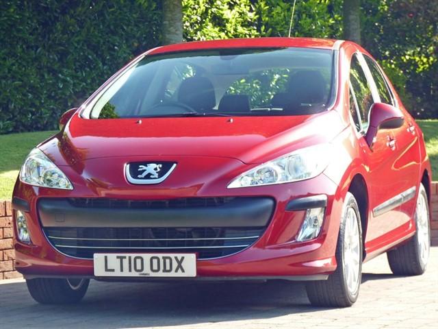 used Peugeot 308 1.6 VERVE in dorset