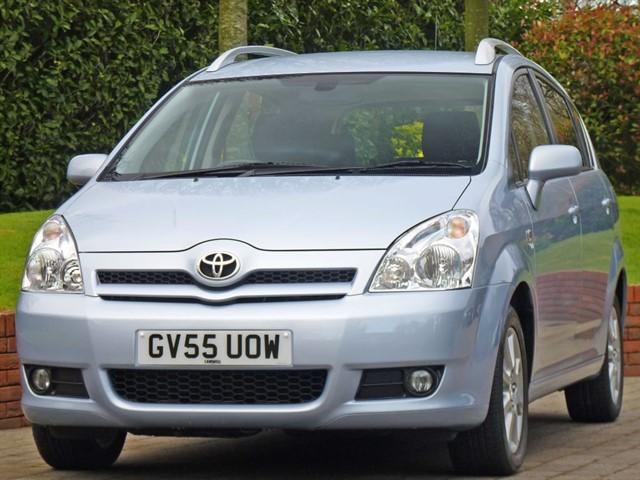 used Toyota Corolla Verso T SPIRIT VVT-I in dorset