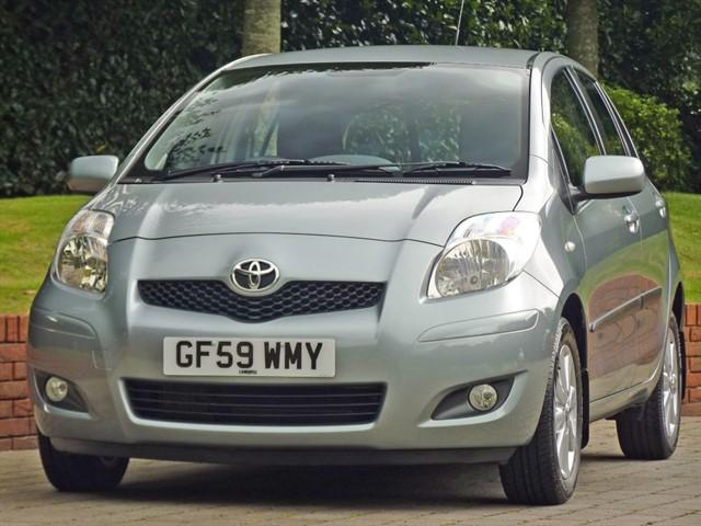 used Toyota Yaris TR VVT-I in dorset
