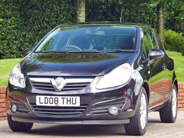 used Vauxhall Corsa DESIGN 16V in dorset
