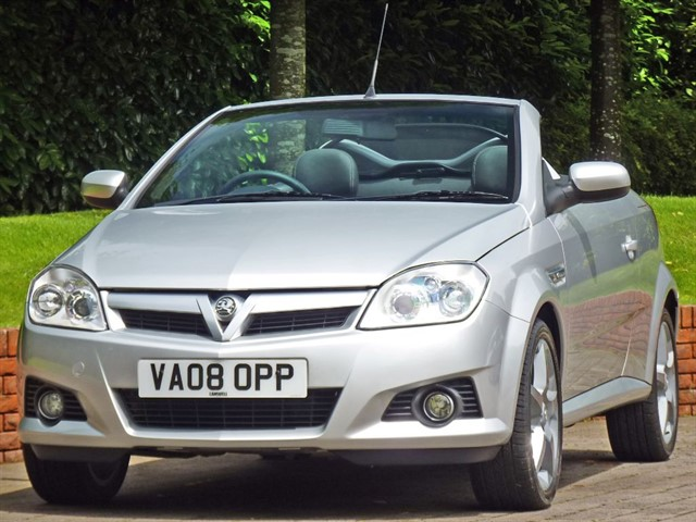 used Vauxhall Tigra 1.8 EXCLUSIV Coupe Convertible in dorset
