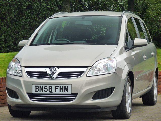 used Vauxhall Zafira 1.9 CDTI EXCLUSIV  in dorset