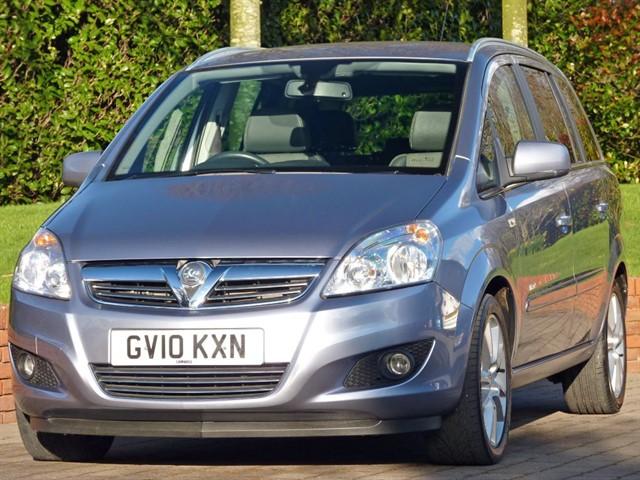 used Vauxhall Zafira 1.9 CDTI DESIGN  in dorset