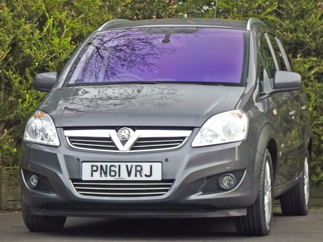 used Vauxhall Zafira 1.7 CDTI ELITE ECOFLEX in dorset
