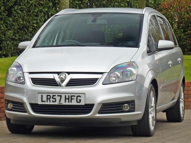 used Vauxhall Zafira DESIGN  in dorset