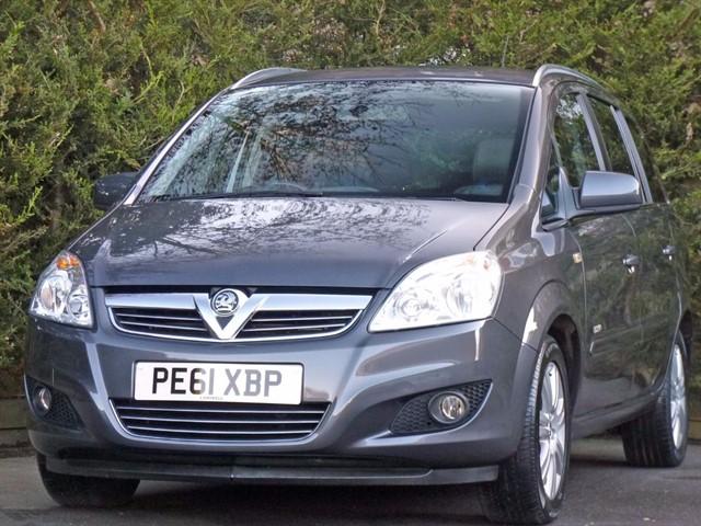 used Vauxhall Zafira 1.8 DESIGN in dorset