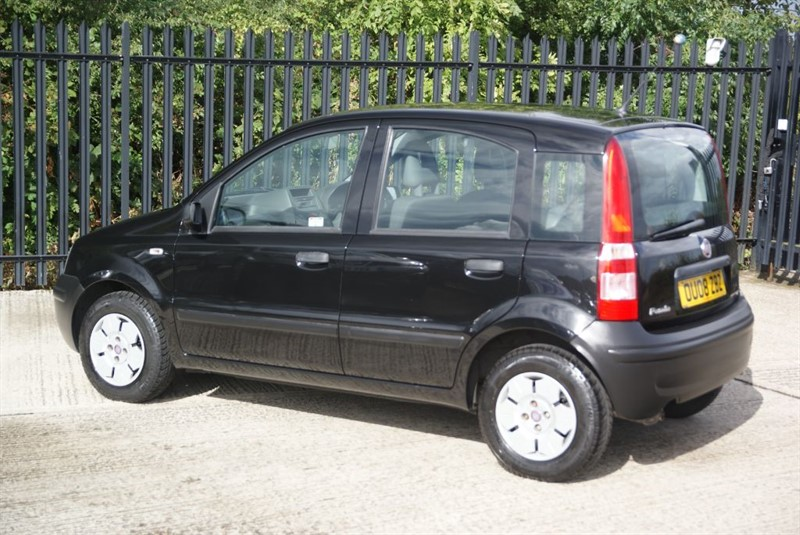 used gloss black fiat panda for sale essex. Black Bedroom Furniture Sets. Home Design Ideas