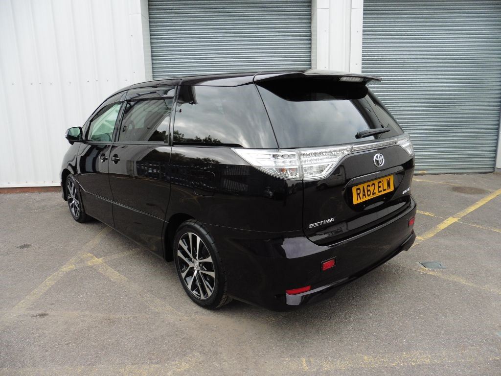 used deep purple metallic toyota previa for sale surrey. Black Bedroom Furniture Sets. Home Design Ideas