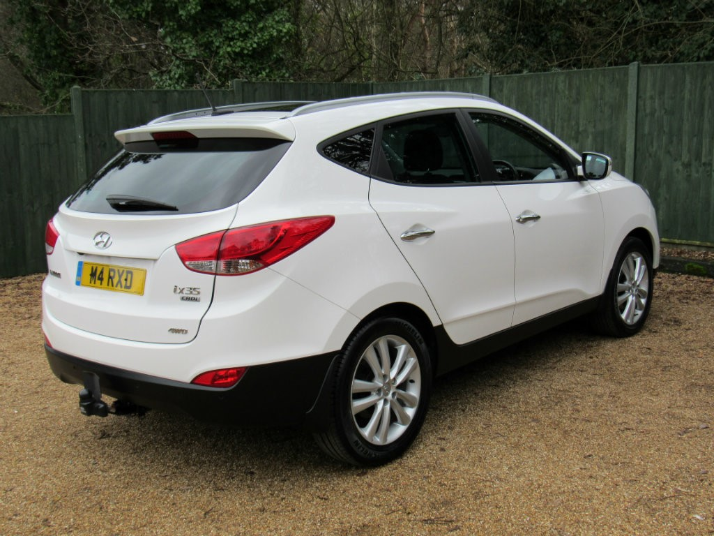 used white hyundai ix35 for sale dorset. Black Bedroom Furniture Sets. Home Design Ideas