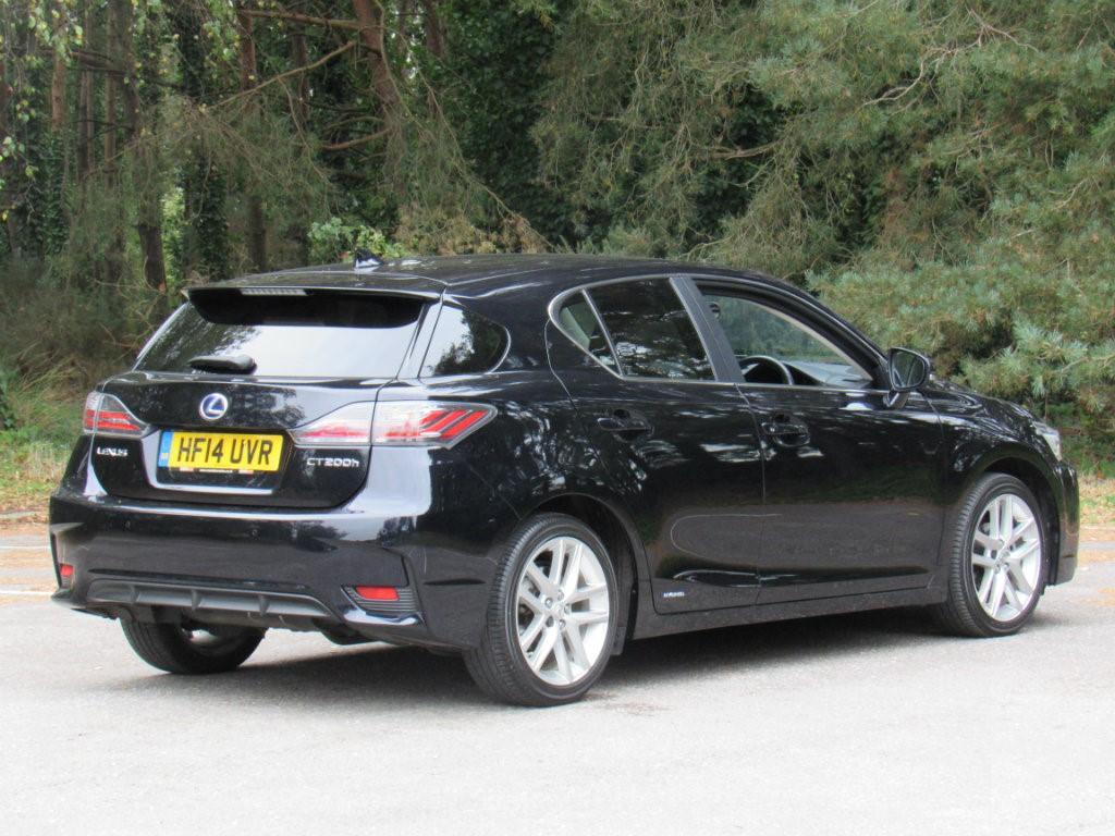 Used Lexus Is Poole >> Used Black Lexus CT 200h for Sale   Dorset