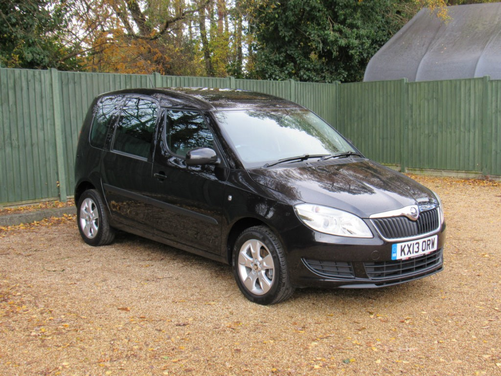 used black skoda roomster for sale dorset. Black Bedroom Furniture Sets. Home Design Ideas