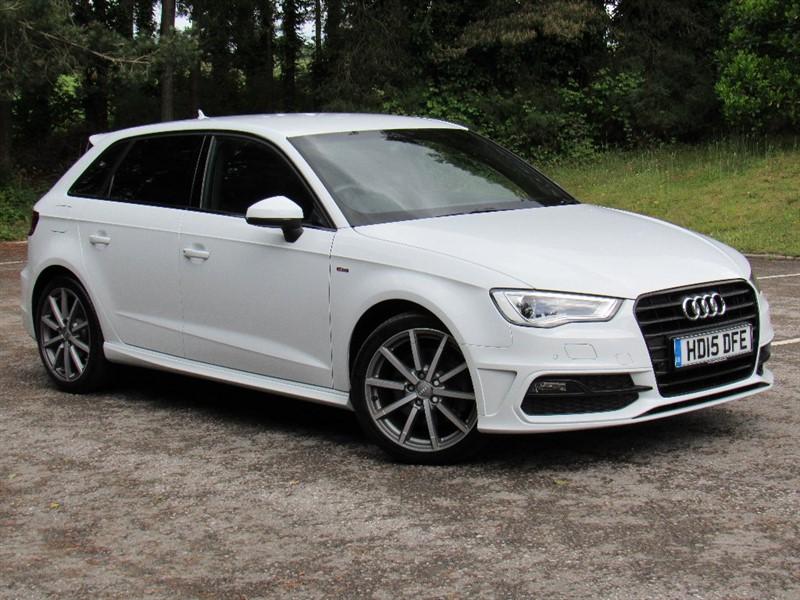 used Audi A3 TDI S Line Sportback 5dr in in-dorset