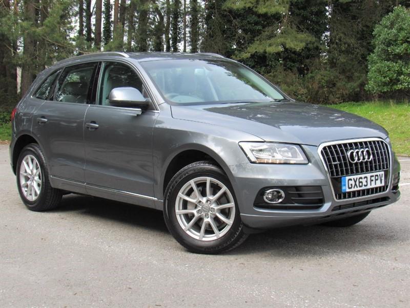 used Audi Q5 TFSI QUATTRO SE in in-dorset