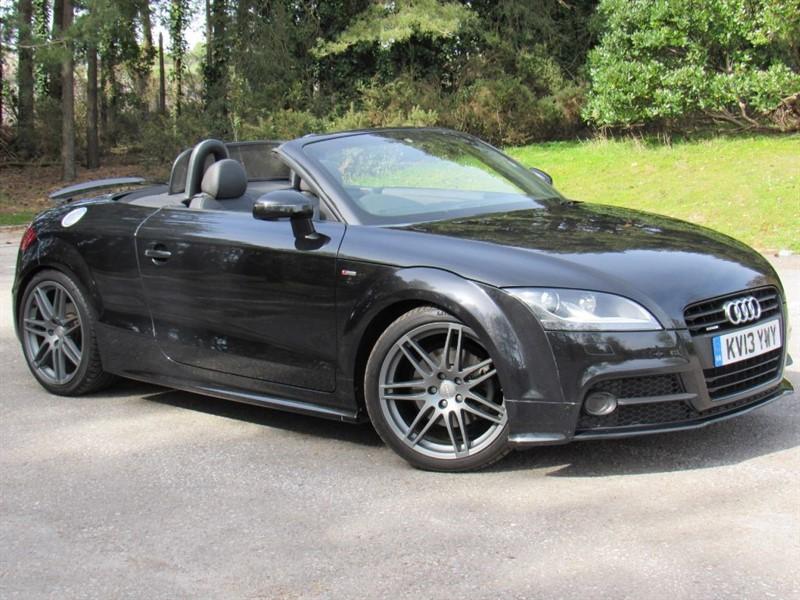 used Audi TT TDI QUATTRO S LINE BLACK EDITION in in-dorset