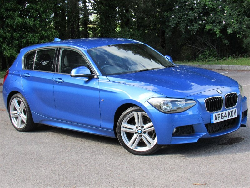 used BMW 118d 1 Series M Sport Sports Hatch 5dr (start/stop) in in-dorset