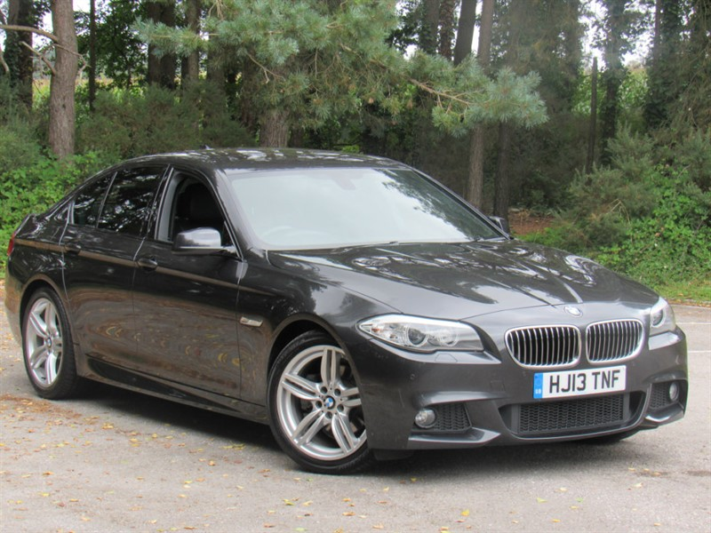 used BMW 520d 5 Series M Sport 4dr in in-dorset