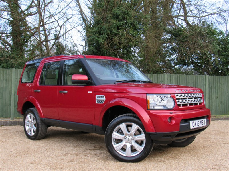 used Land Rover Discovery 4 SD V6 HSE 5dr in in-dorset