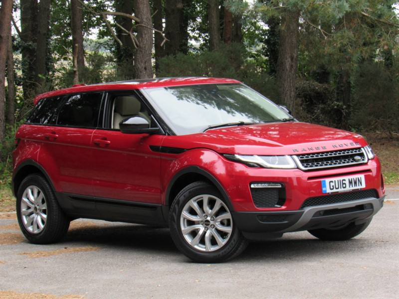 used Land Rover Range Rover Evoque ED4 SE Tech (2WD) 5dr (start/stop) in in-dorset