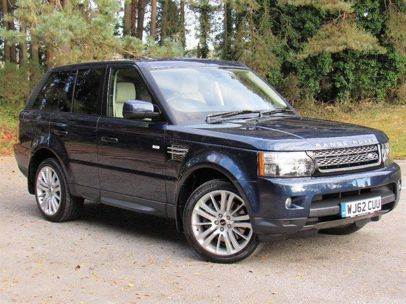 used Land Rover Range Rover Sport SD V6 HSE Station Wagon 4x4 5dr in in-dorset
