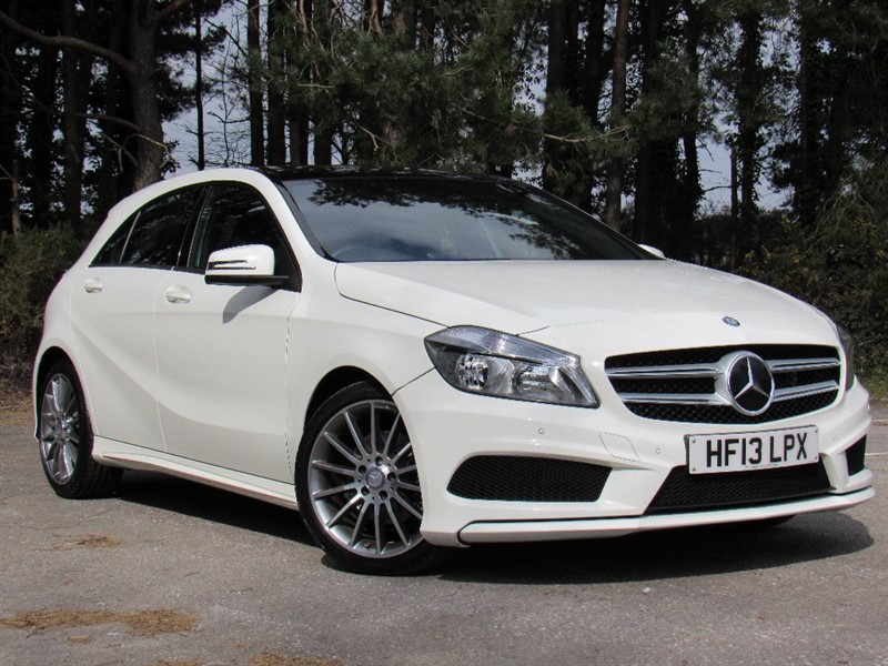 used Mercedes A200 A Class AMG Sport 7G-DCT 5dr in in-dorset
