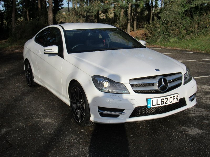 used Mercedes C180 C Class BlueEFFICIENCY AMG Sport Plus 7G-Tronic 2dr in in-dorset