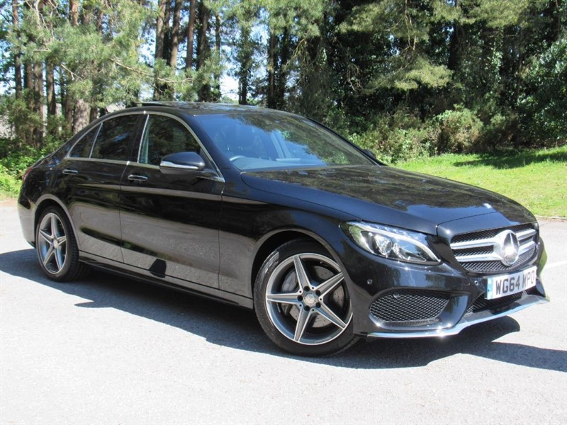 used Mercedes  C Class CDI BlueTEC AMG Line 7G-Tronic Plus 4dr (start/stop) in in-dorset