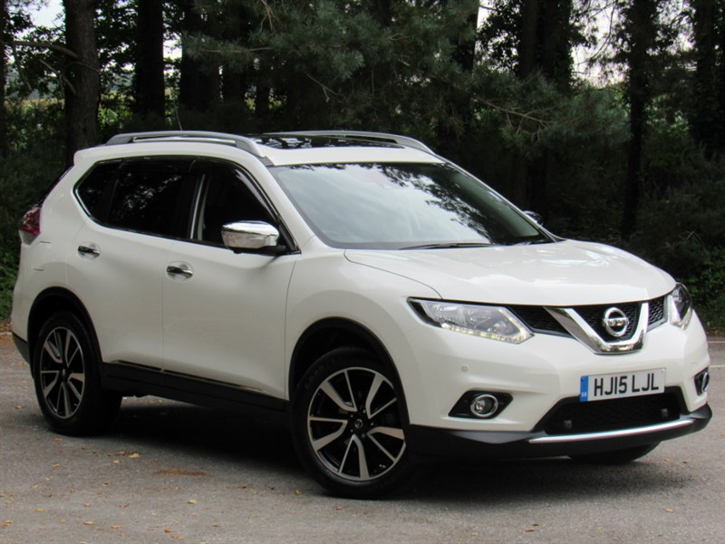 used Nissan X-Trail dCi N-TEC XTRONIC CVT 5dr in in-dorset