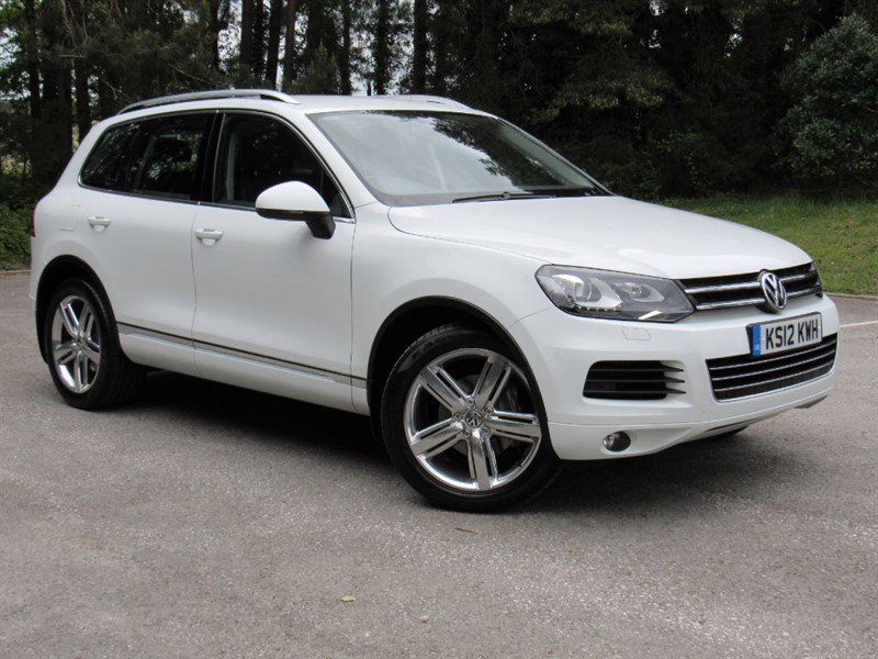 used VW Touareg TDI V6 SE Tiptronic 4x4 5dr (start/stop) in in-dorset