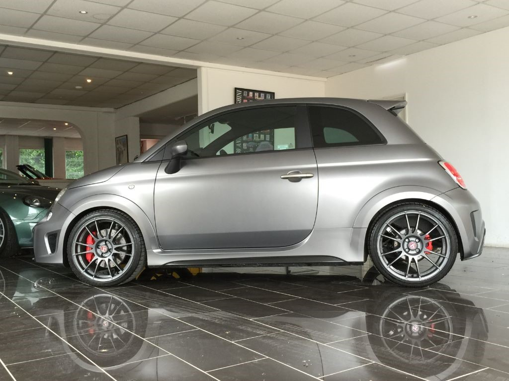 Used Matte Grey Abarth 695 For Sale West Sussex