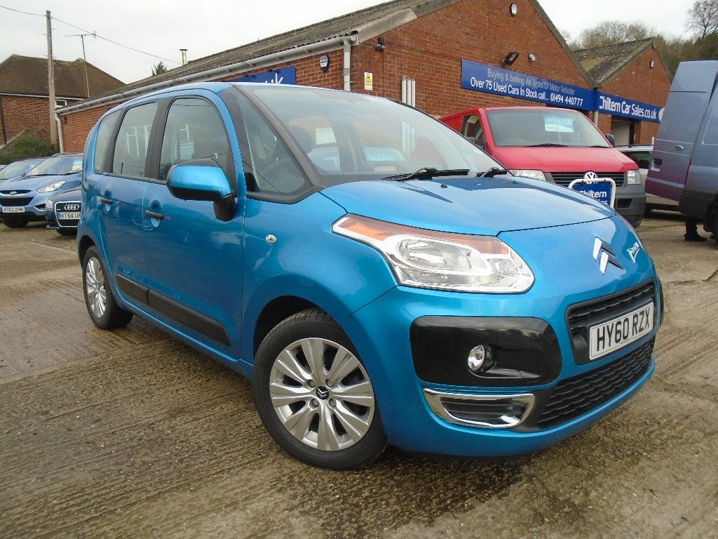 used blue citroen c3 picasso for sale buckinghamshire. Black Bedroom Furniture Sets. Home Design Ideas