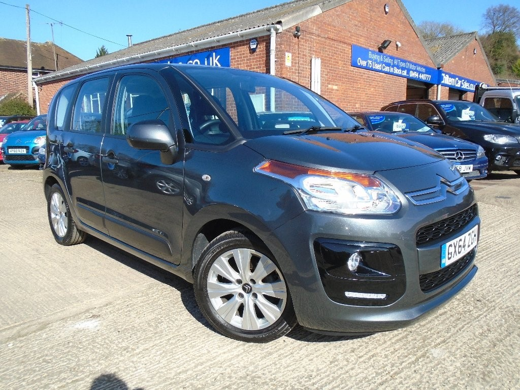 used grey citroen c3 picasso for sale buckinghamshire. Black Bedroom Furniture Sets. Home Design Ideas