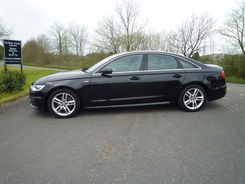 used Audi A6 Saloon TDI S Line 4dr in suffolk