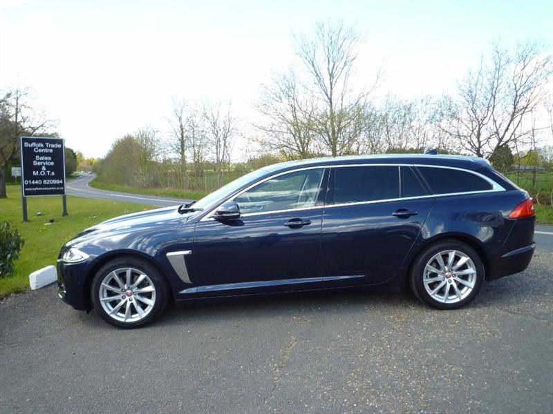 used Jaguar XF TD Premium Luxury Sportbrake 5dr (start/stop) in suffolk