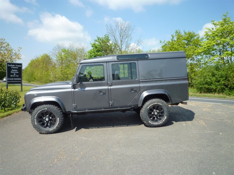 used Land Rover Defender 110 D XS Utility Station Wagon 5dr in suffolk