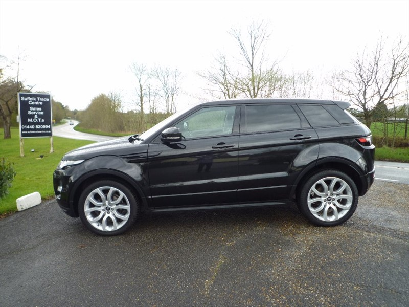 used Land Rover Range Rover Evoque SD4 Dynamic 5dr in suffolk