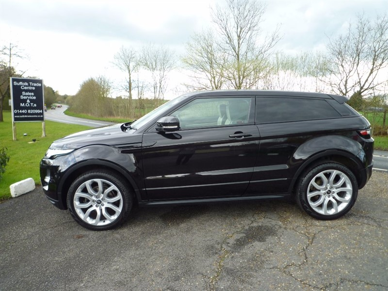 used Land Rover Range Rover Evoque SD4 Dynamic 3dr in suffolk