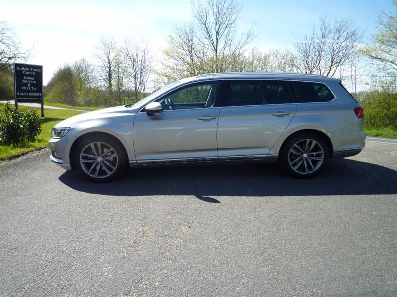 used VW Passat TDI BlueMotion Tech GT 5dr in suffolk