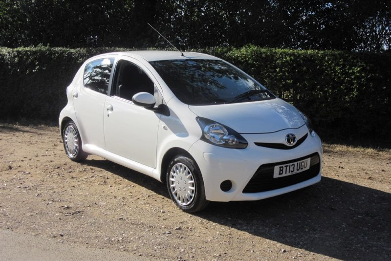 Used Black Toyota Aygo For Sale Suffolk