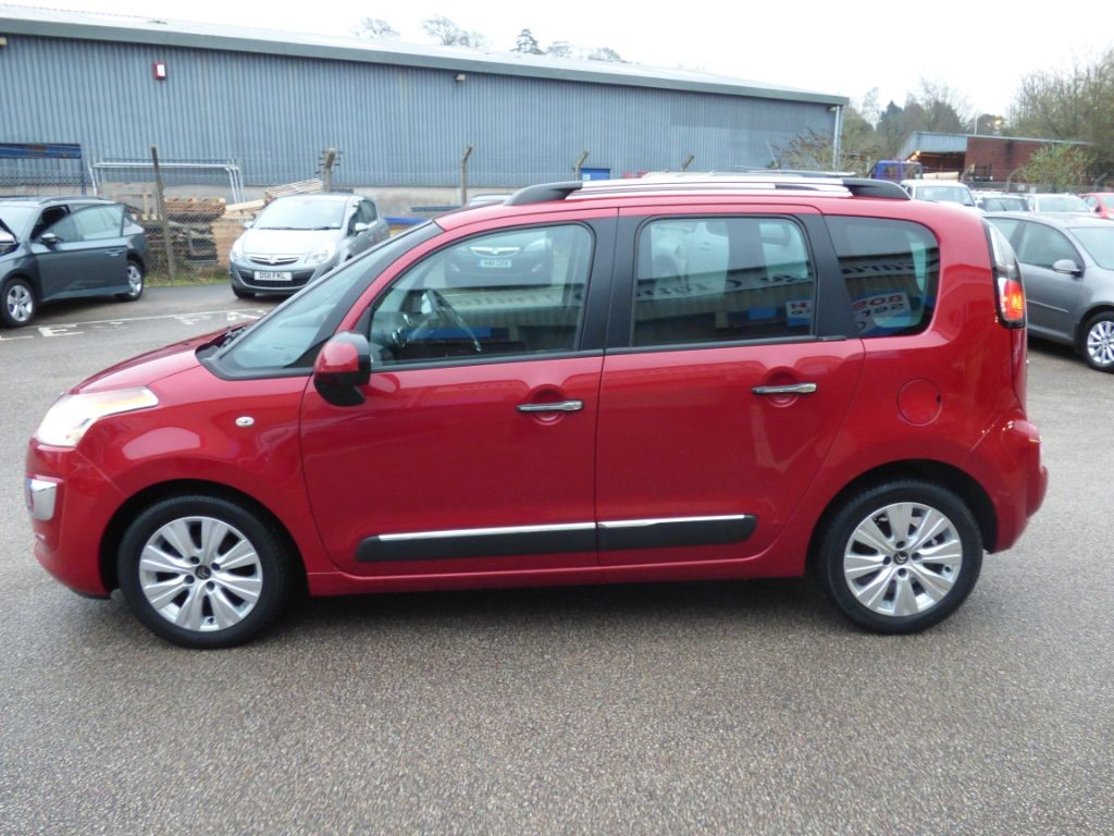 used cherry red citroen c3 picasso for sale devon. Black Bedroom Furniture Sets. Home Design Ideas