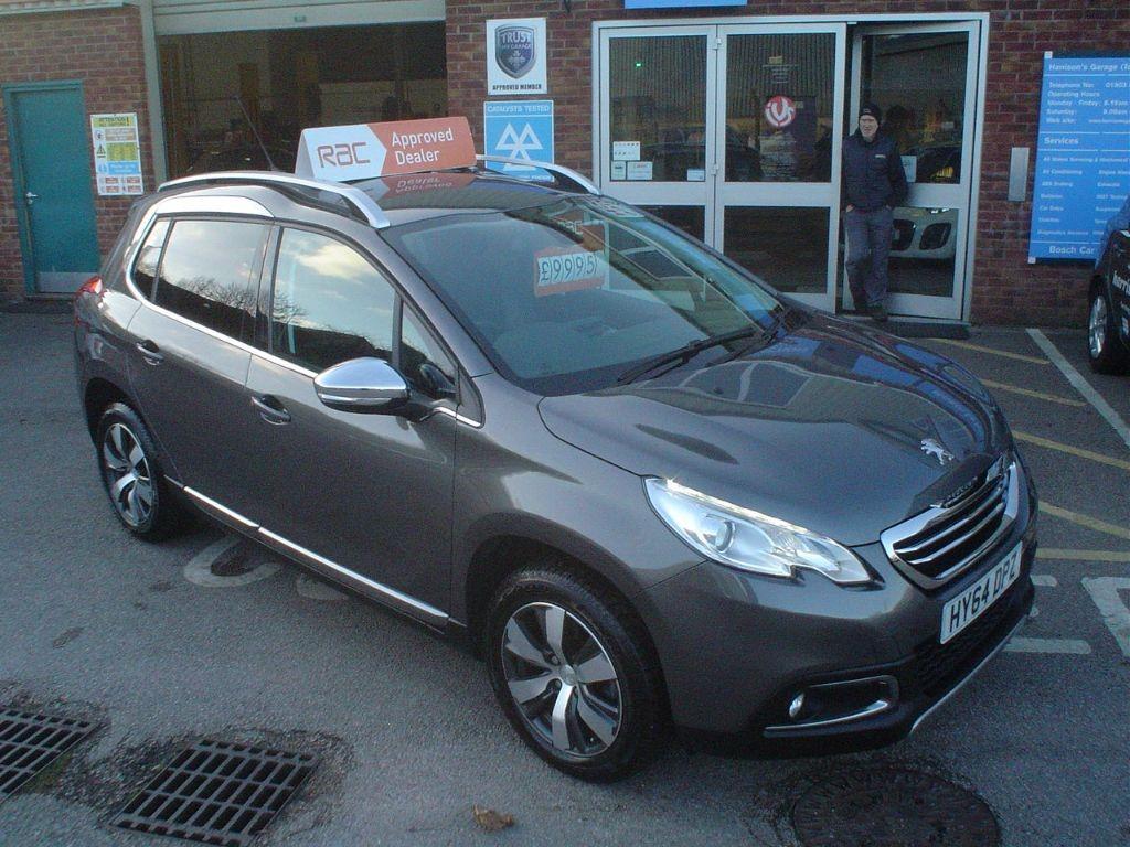 Used Shark Grey Peugeot 2008 For Sale Devon
