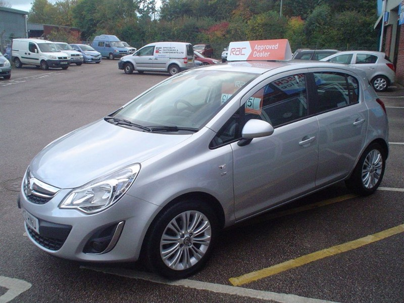 Used Sovereign Silver Vauxhall Corsa For Sale Devon