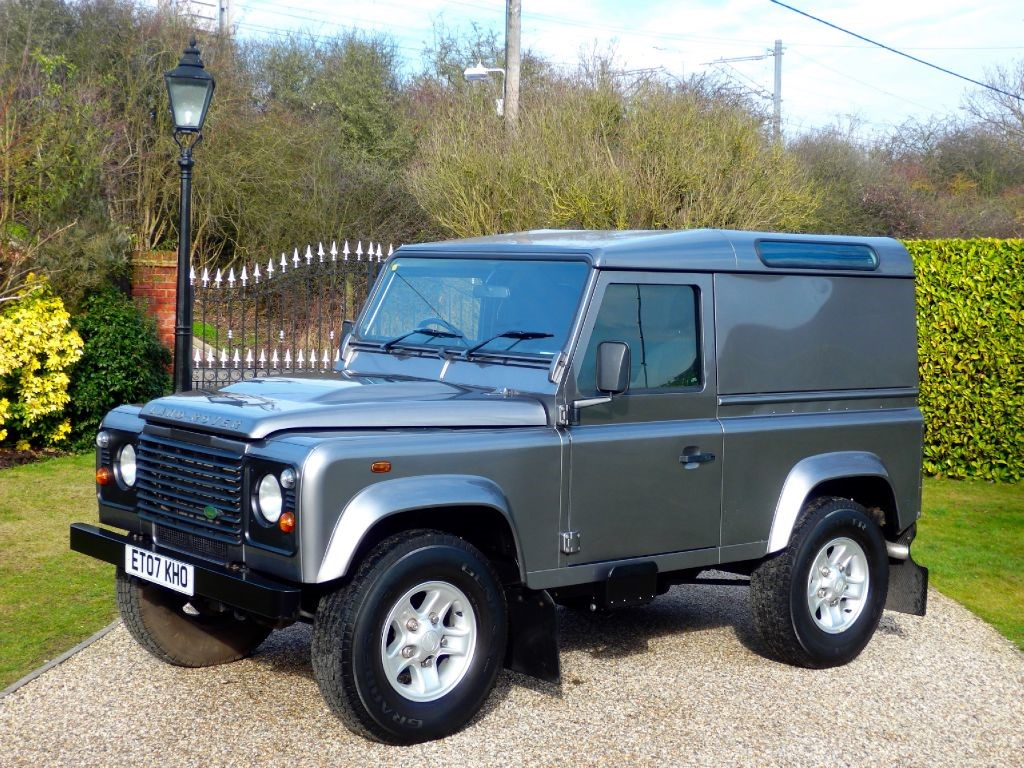 used stornaway grey land rover defender for sale essex. Black Bedroom Furniture Sets. Home Design Ideas