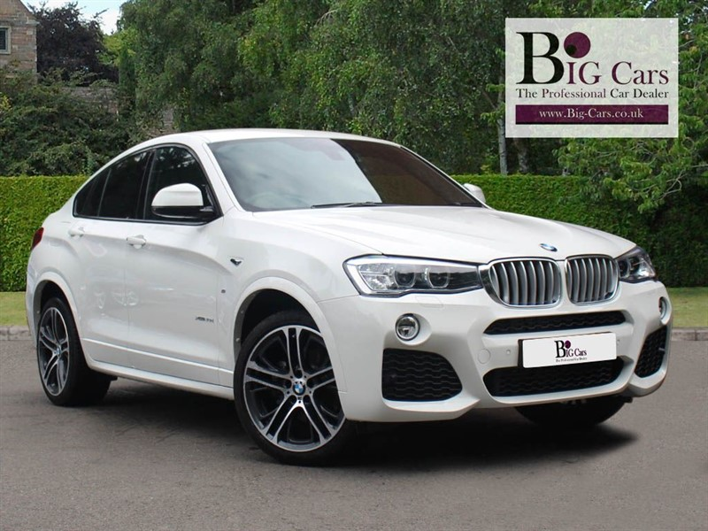 used BMW X4  XDRIVE30D M SPORT, Sat Nav, Full Leather, Reverse Camera in chelmsford-essex