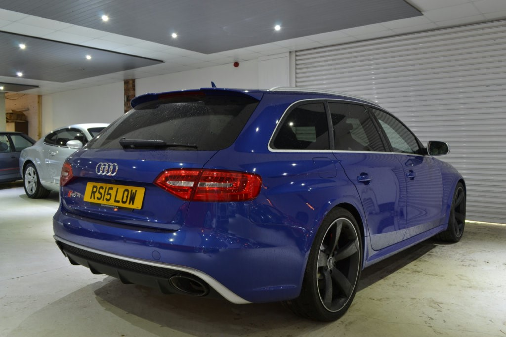 Used Blue Audi Rs4 Avant For Sale Worcestershire