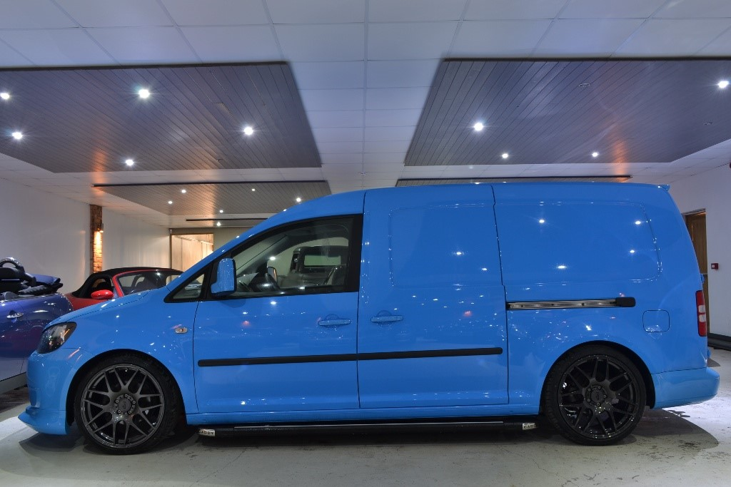 Used Blue Vw Caddy Maxi For Sale Worcestershire